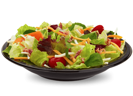 McDonalds Asian Salad with Grilled Chicken without